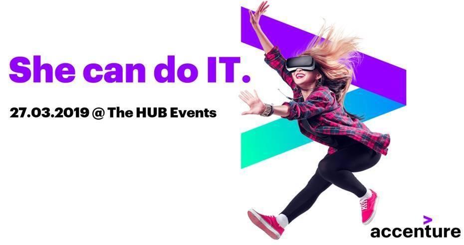 Εκδήλωση Accenture: She Can Do IT (φυσικά κι εσύ μπορείς!)